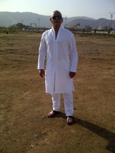 Vikram Singh - Still from Singham 2!