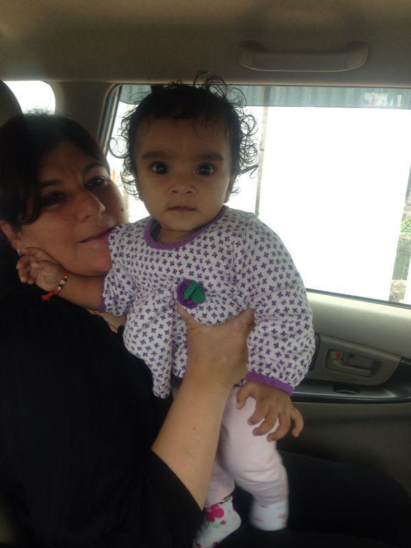 Meera & her daughter!