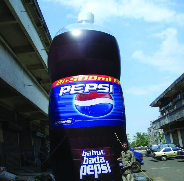 Shapes Inflatables Bada Pepsi