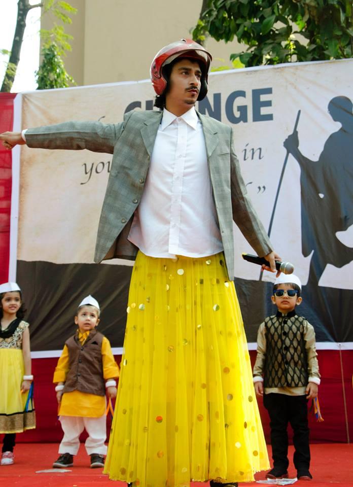 "Raj in one of his ""PK"" Avatars!!"