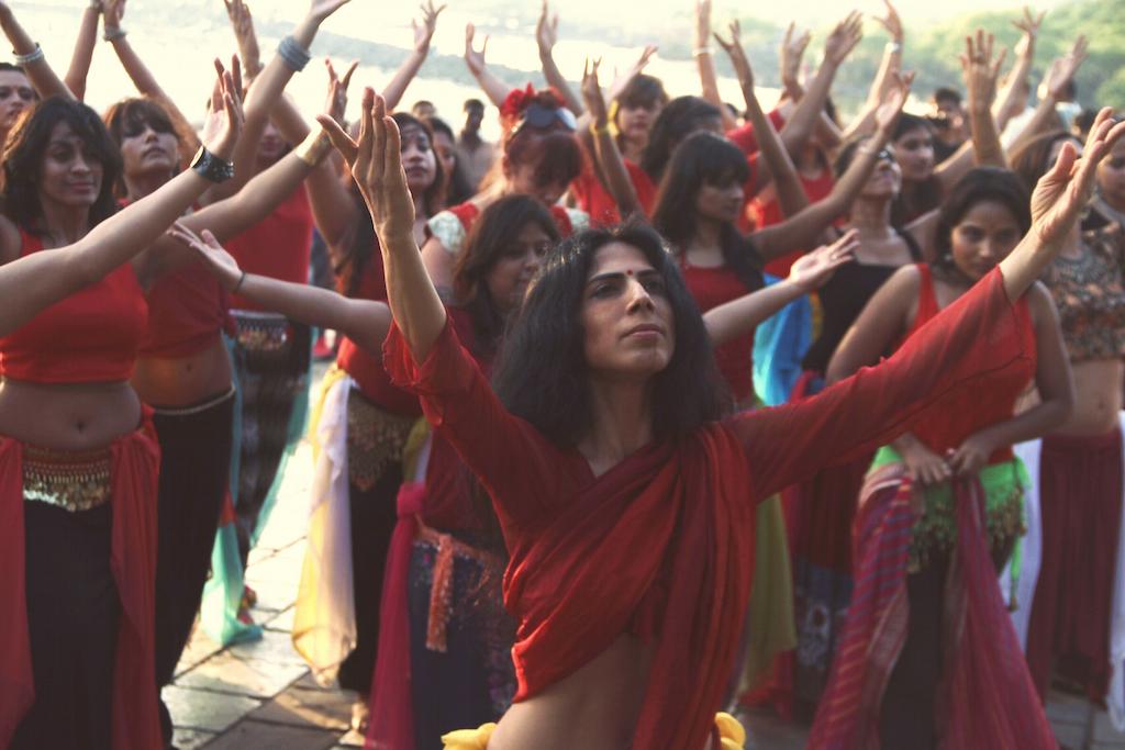 Leena Viie-flashmob